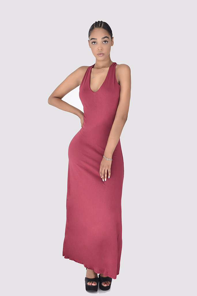 Vestidos largo Rojo Fiesta Mujer · Moda · LIRISH tienda online